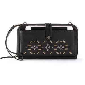 The Sak Iris Smartphone studded crossbody bag